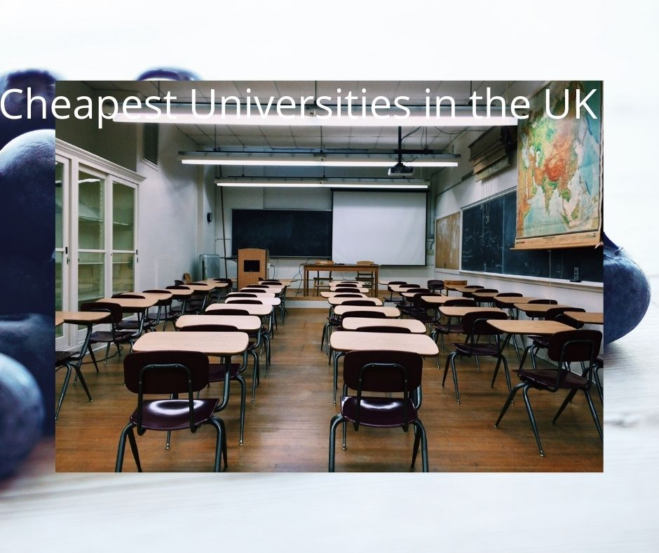Cheapest universities in the UK for international students